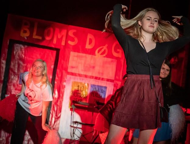De unge bruger meget tid på musicalen. Foto: Martin Damgård Martin Damgård