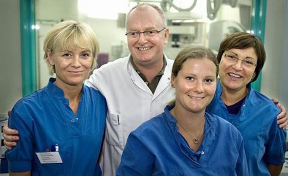 Sygeplejersker forbinder læger