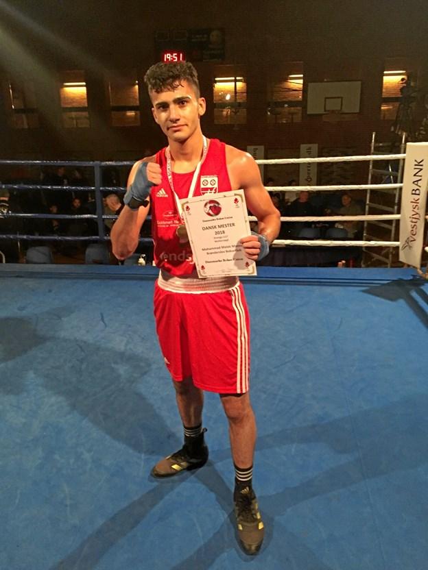 Malek vandt DM-guld i Holstebro.Privatfoto