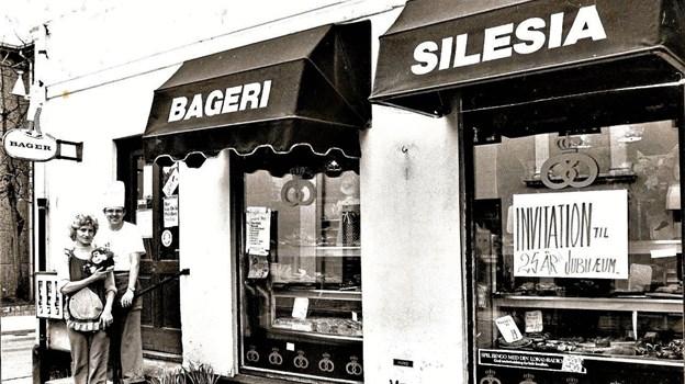 I mange år var der bageri i underetagen.Arkivfoto.