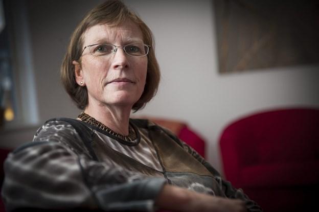 Marianne Bach, fortæller, at pengene skal bruges på en terapigruppe for unge fra familier med misbrug. Arkivfoto