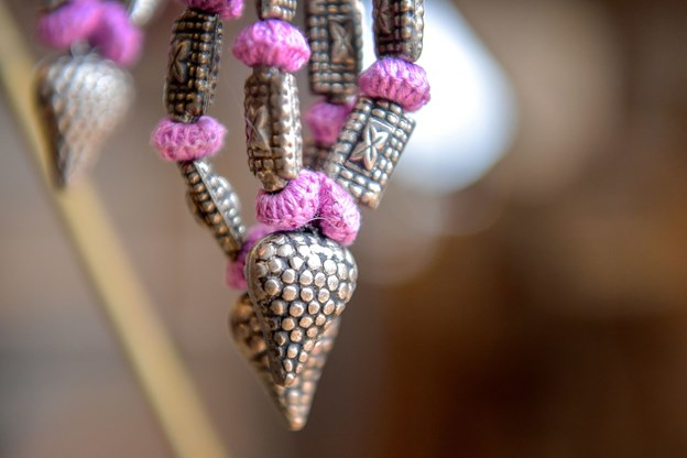 Smykkerne er også skabt efter bæredygtige principper.