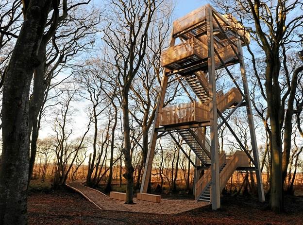 Besøg det nye tårn i Tofte Skov. Foto: Jan Skriver.