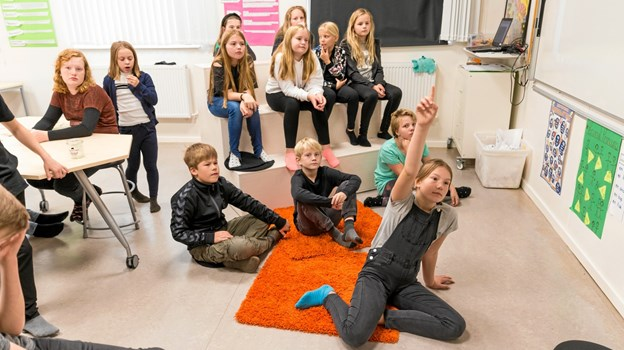 Eleverne i Jammerbugt viser fremgang. Privatfoto