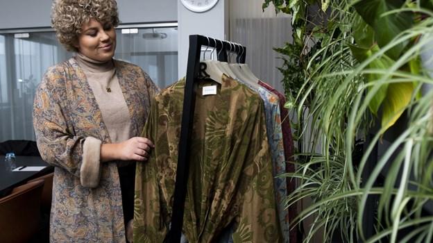 Camilla Rigmor Nørby er uddannet tjener, men har nu lanceret sit eget tøjmærke RIGMOR. Foto: Lasse Sand