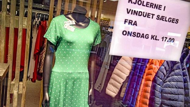 Sommerkjoler til ægte udsalgspriser. Foto: Ole Iversen Ole Iversen