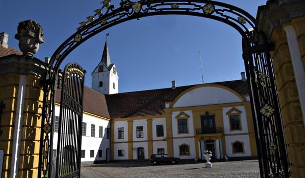 Dronninglund Slot var ejet af Grev Moltke.Arkivfoto: Kurt Bering