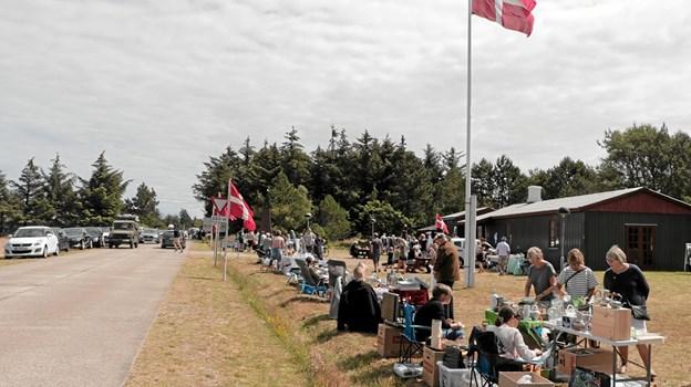 Det var en velbesøgt markedsdag i Hulsig. Foto: Peter Jørgensen Peter Jørgensen