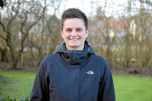 Rie Hovalt blev hædret for sin indsats i Saltum Idrætsforening. Arkivfoto: Flemming Dahl Jensen