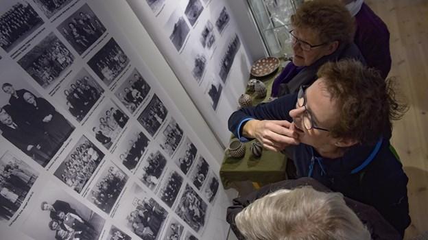 Der er i forårsudstillingen i Strømpehuset også mulighed for at se fotografier, blandt andre af Margrethe Hansen. Arkivfoto.