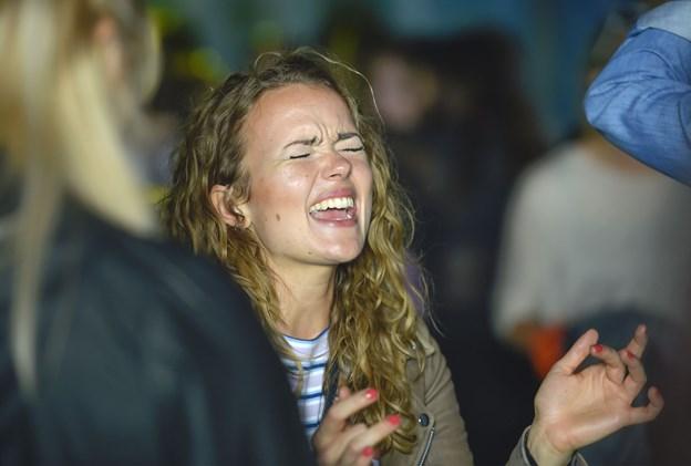 Jeg elsker denne her…skal vi ikke synge …Foto: Ole Iversen