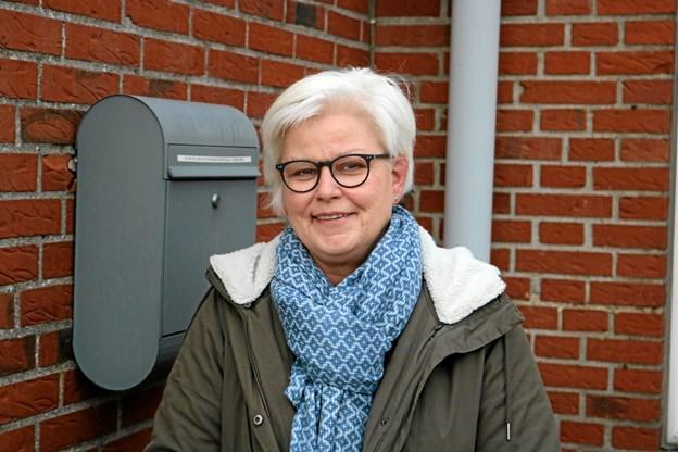 Inge Nørbjerg Rasmussen er blevet 60 år og sammen med ægtefællen Jan, fejrer de 120 års fødselsdag med Åbent Hus i Syvstenhallen Foto: Tommy Thomsen