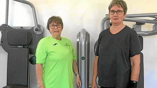 Hanne Juul Olsen og Hanne Grandahl benytter sig begge med stor succes af tilbuddene i sundheds- og foreningshuset. Privatfoto