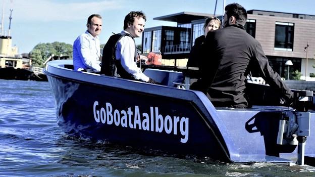 GoBoat er klar til igen at sejle på Limfjorden. Foto: GoBoat