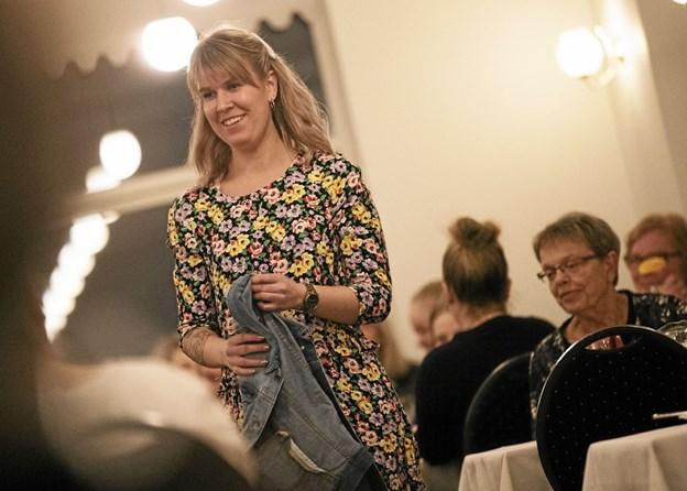 Aftenen var indrammet af et stort modeshow. Foto: Allan Mortensen Allan Mortensen