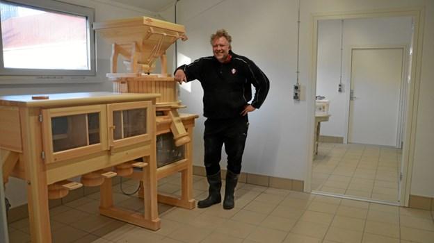 Økologisk kornavler og møller, Anders Hedegaard. Arkivfoto: Flemming Dahl Jensen