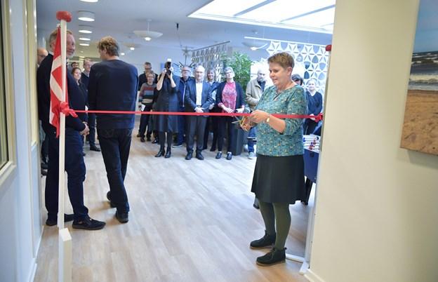16 nye sengepladser til de farligste psykisk syge blev mandag indviet på Brønderslev Psykiatriske Sygehus. Foto: Bente Poder