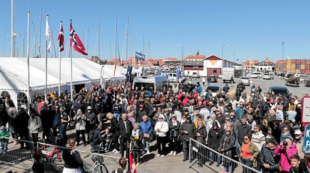 Mange var mødt op for at følge Skagen Race. Foto: Peter Jørgensen Peter Jørgensen
