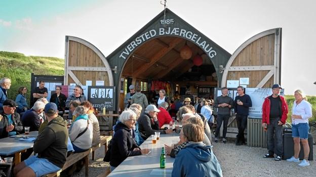 Tversted Bjærgelaug lagde atter hus til Jazzy Days præsentation af musikprogammet til efterårsferiens jazzfestival. Privatfoto