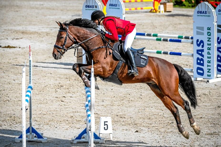 Anna-Mathilde sprang sig til stor sejr