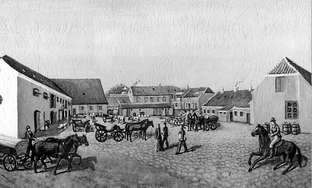 Historiker Agnete Madsen holder foredrag på Vrå Bibliotek. ?Arkivfoto