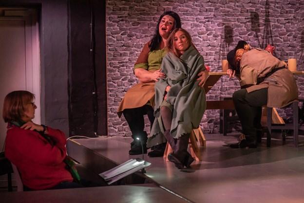 Stykket opføres seks gange i februar.Foto: Martin Damgård Martin Damgård