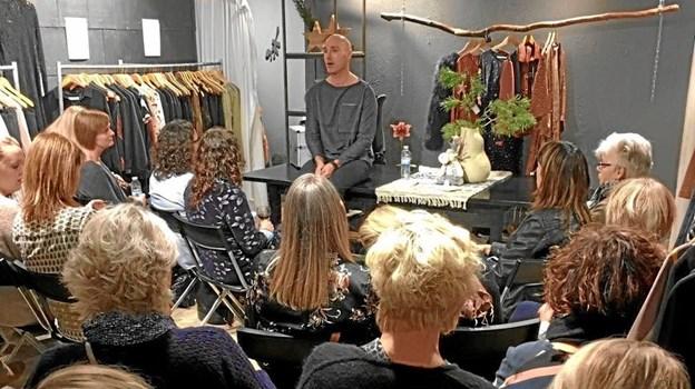 Butik Provoke har afholdt mange events gennem årene i Hadsund-butikken, her med Kenneth. ArkivFoto.