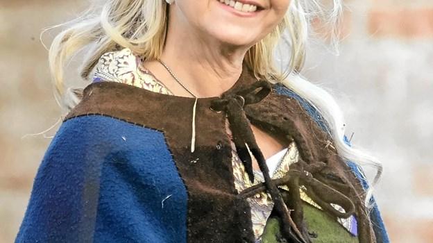 "Pia Grandjean Odderskov - holder 10. oktober foredrag om sin nyeste roman ""Bodil og dronning"" i de historiske rammer i Mariager Kloster.  PR-foto"