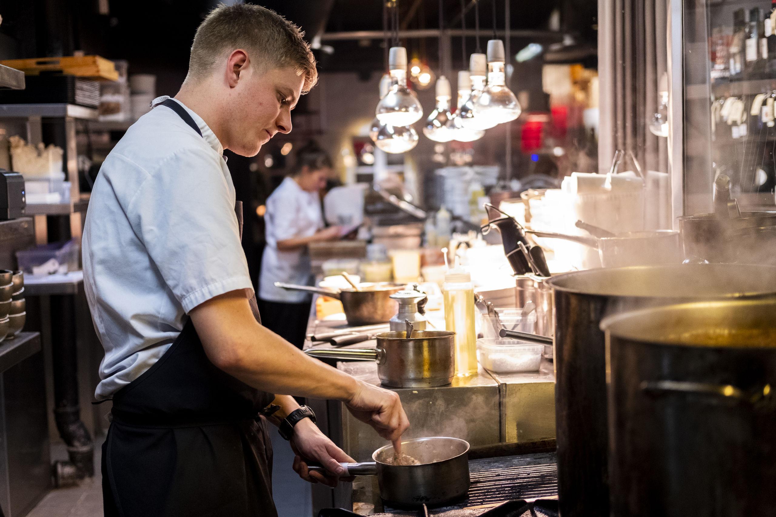 Slagterbørsen er et af Aalborgs nyeste spisesteder. Foto: Lasse Sand