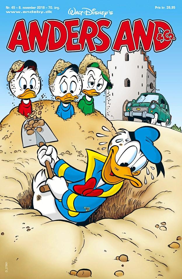 Historien om Anders' tur rundt i Vendsyssel er blevet til på baggrund af forslag fra læserne.Tegning: Egmont