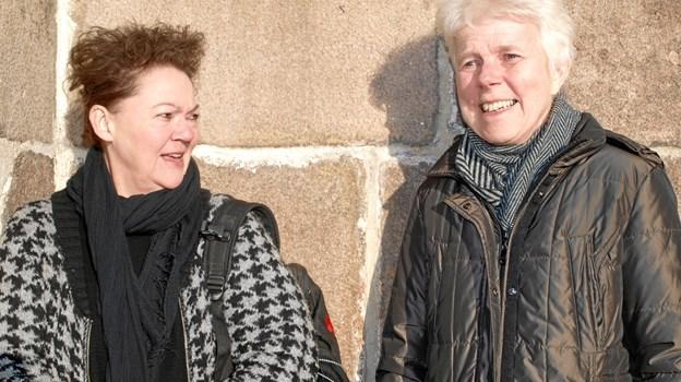 Her de to 40-års jubilarer – Anna Brohus og Marie Louise Clemmensen Foto: Arne Larsen-Ledet