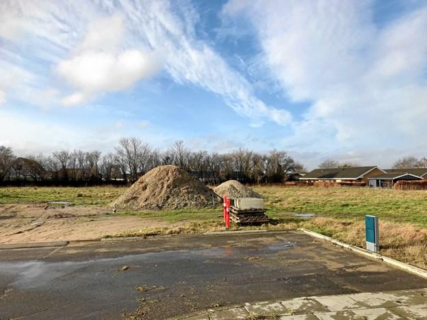Der bliver bygget 12 lejeboliger på den vestlige del af Nicolajs Have. Privatfoto