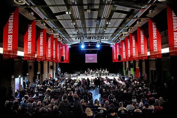 Det er syvende gang, at Aalborg Kommune hædrer byens idrætsmestre. Arkivfoto: Lars Horn/Baghuset