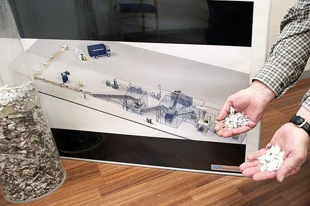 ARP Nord arbejder blandt andet med neddeling af køleskabe.?Arkivfoto: Erik Sahl