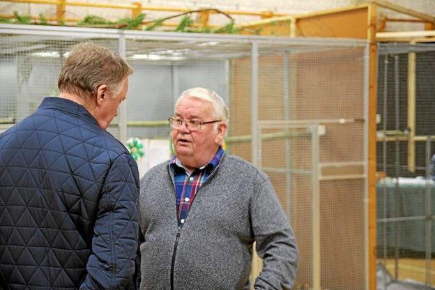 Formand for Jammerbugt fugleforening, Finn Pedersen. Foto: Flemming Dahl Jensen