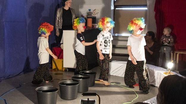 Cirkus Østergade begejstrede tilskuerne både for- og eftermiddag. Peter Mork