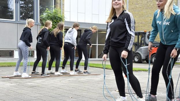 Eleverne på Frederikshavn Gymnasium og HF får en ny rektor.Arkivfoto fra idrætsdagen i sommers: Bente Poder