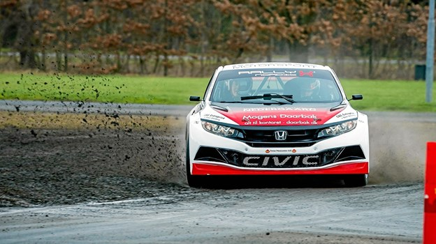 Linnemann Motorsport ser frem til en spændende Rally X Nordic sæson i den potente Honda Civic supecar.