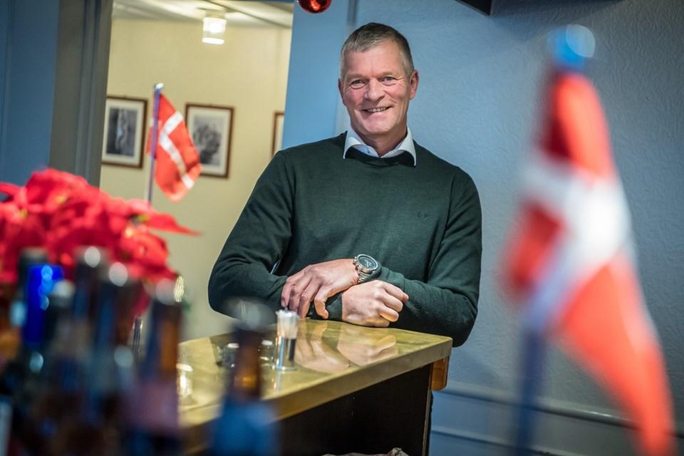Tonny Hoberg glæder sig til at omsætte sine mange ideer i praktisk restauratør handling. Martin Damgård