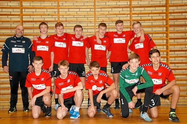 Hurup HK U14 drenge nåede Final 4 slutspillet om adgang til finalen om det Jyske Mesterskab. Men drengen fra Hurup måtte nøjes med 4. pladsen i weekendens stævne i Støvring. Privatfoto