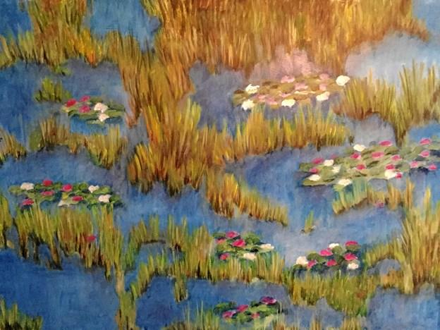 De seneste år har Lone Stig arbejdet med blomster og plantemotiver