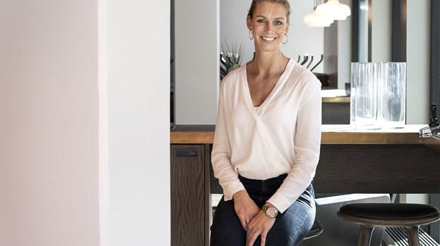 Store Manager Tina Mikkelsen glæder sig til, at Lagkagehuset bliver en del af Magasin. Foto: Laura Guldhammer