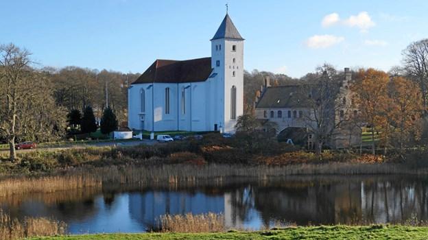 St. bededagsvandringen finder sted i umiddelbar forlængelse af højmessen i Mariager Kirke. Privatfoto