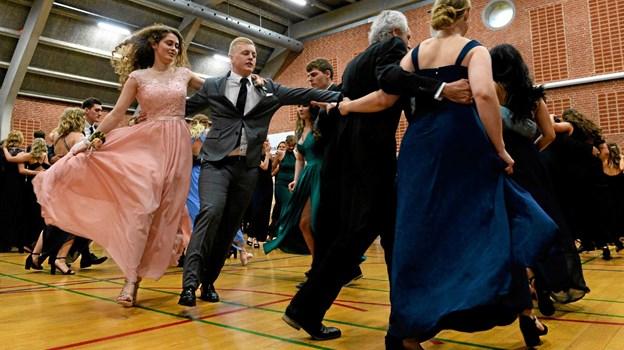 Det var som altid fejende flot, da der forleden var gallafest på Dronninglund Gymnasium. Privatfoto