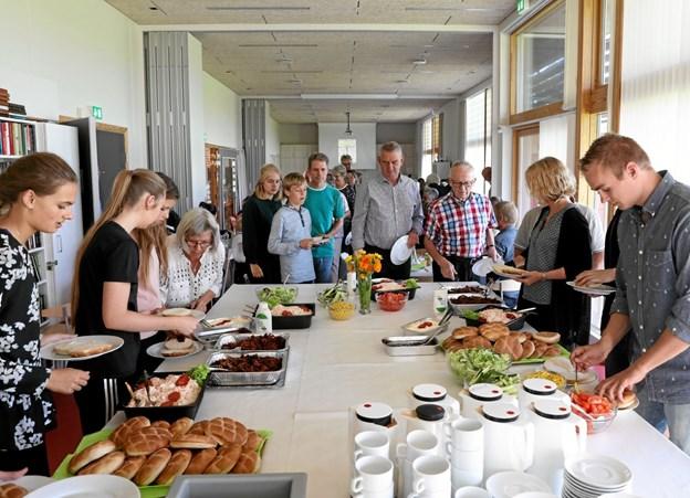 Hou Borgerhus danner i foråret ramme om yderligere tre spis sammen-arrangementer. Foto: Allan Mortensen