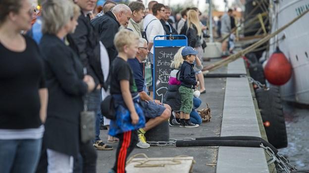 The Tall Ships Races er et tilløbsstykke, flere end 700.000 forventes at deltage, når folkefesten finder sted. Arkivfoto: Laura Guldhammer