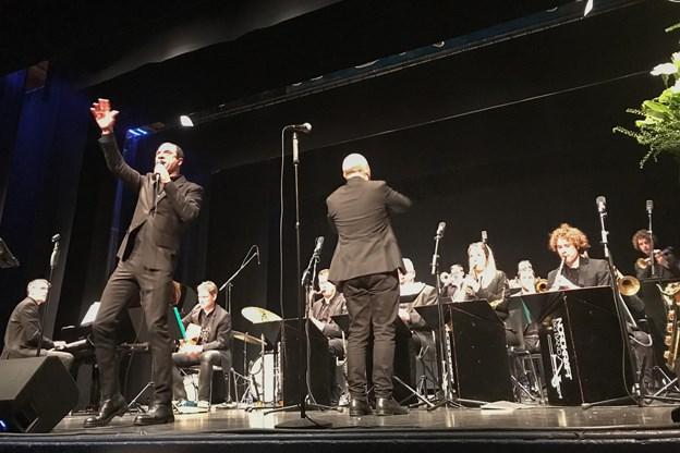Søndag eftermiddag var det nytårskoncert på Vendelbohus i Hjørring. Privatfoto. Claus Søndberg