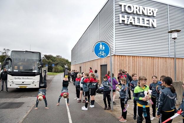 Det nye fælleshold fra Hjørring og Tornby kommer hurtigt på banen - ved Tornby Cup 2018.  Arkivfoto: Hans Ravn