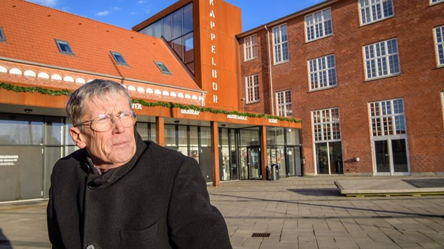 Formand  for Kulturhus Kappelborgs venner Flemming Stig . Arkivfoto: Peter Broen