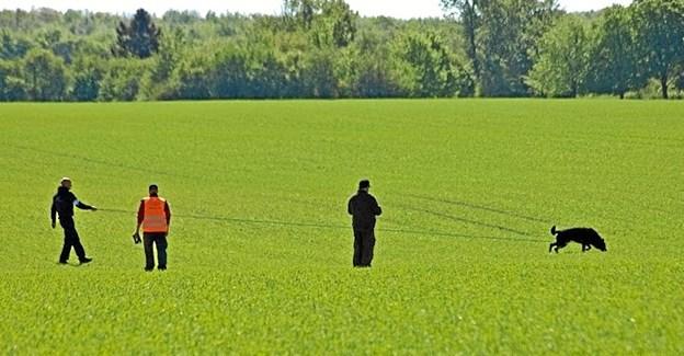 """Lokale landmænd lægger arealer til, så disciplinen """"spor"""" også kan praktiseres. Privatfoto"""